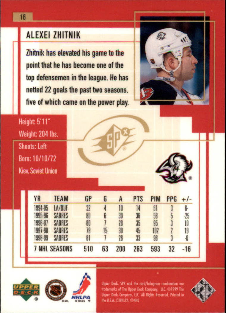 1999-00-SPx-Hockey-Cards-Pick-From-List miniature 23