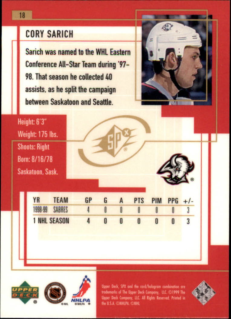 1999-00-SPx-Hockey-Cards-Pick-From-List miniature 27