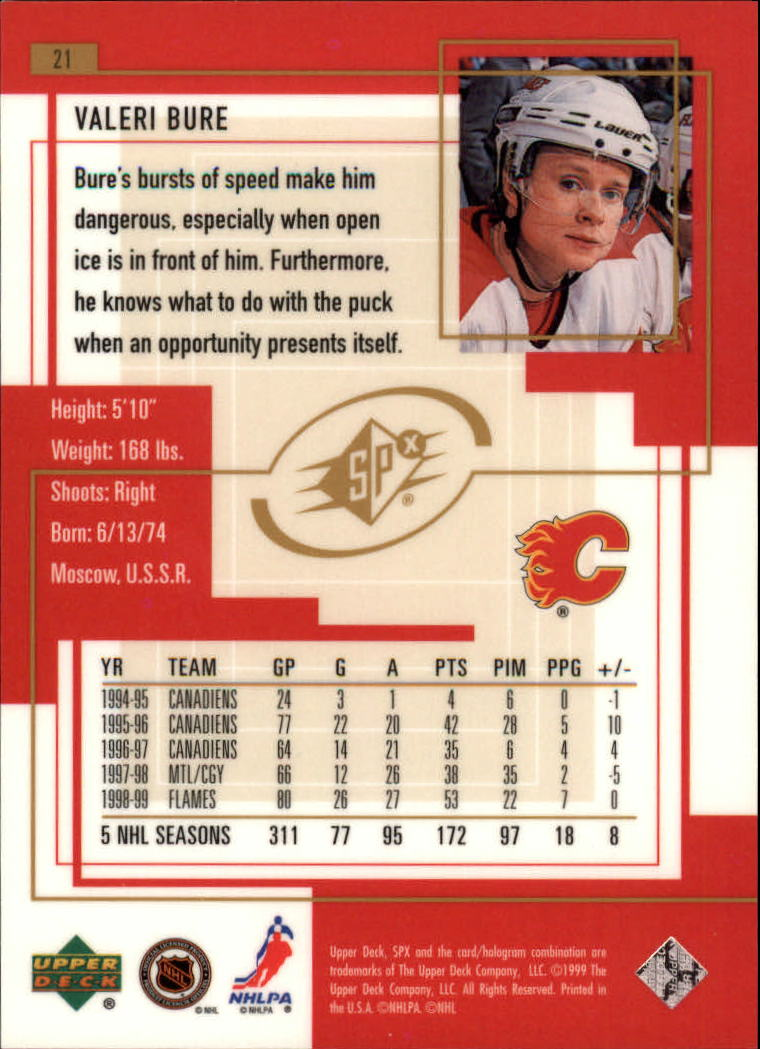 1999-00-SPx-Hockey-Cards-Pick-From-List miniature 33