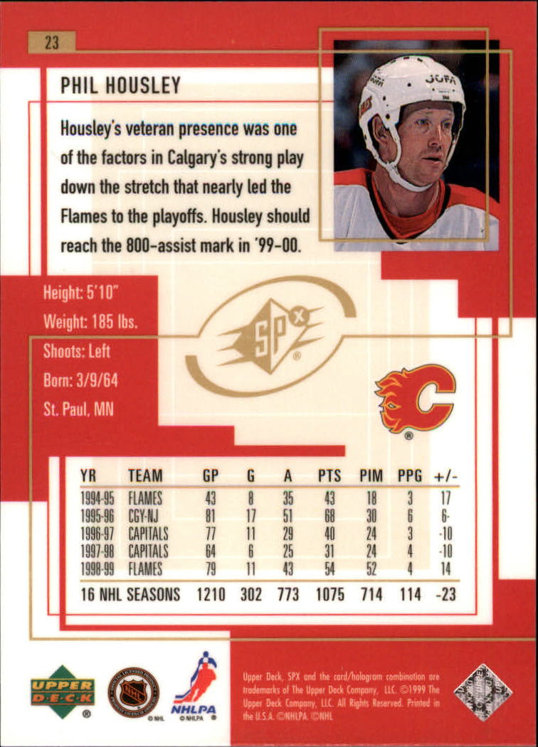 1999-00-SPx-Hockey-Cards-Pick-From-List miniature 37