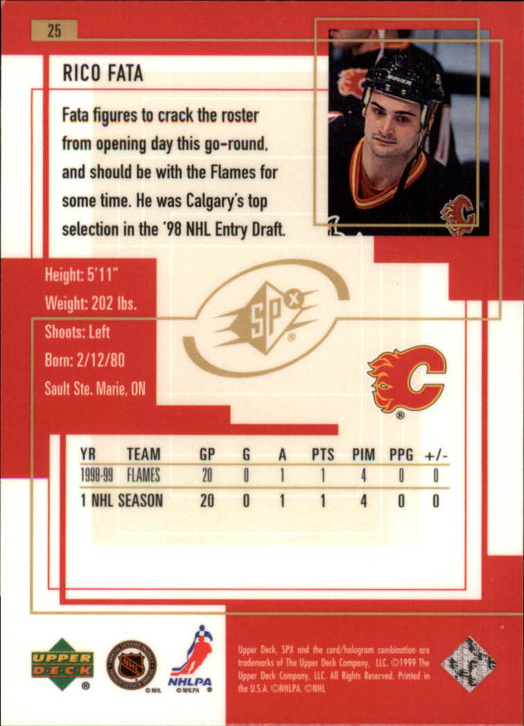1999-00-SPx-Hockey-Cards-Pick-From-List miniature 41