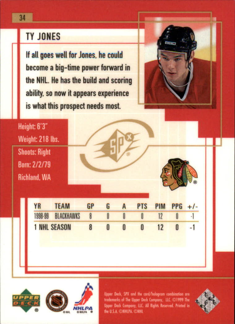 1999-00-SPx-Hockey-Cards-Pick-From-List miniature 53