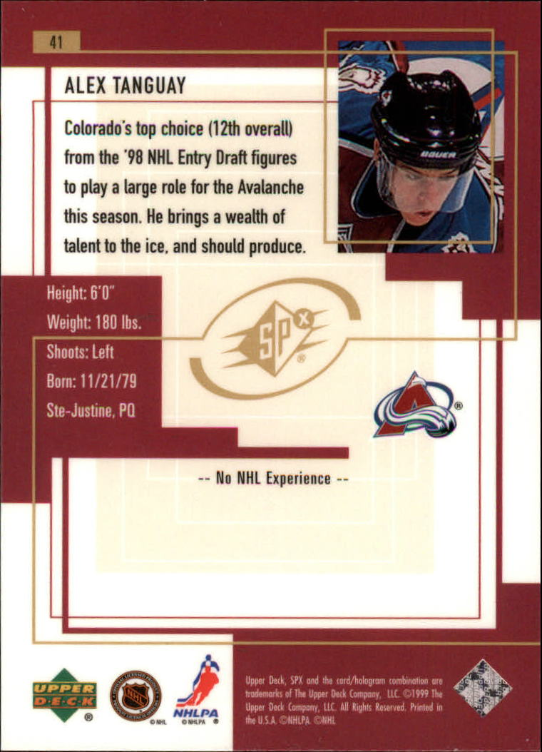 1999-00-SPx-Hockey-Cards-Pick-From-List miniature 61