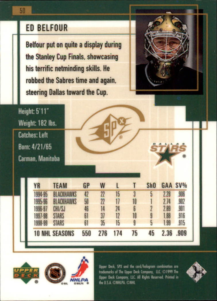 1999-00-SPx-Hockey-Cards-Pick-From-List miniature 77