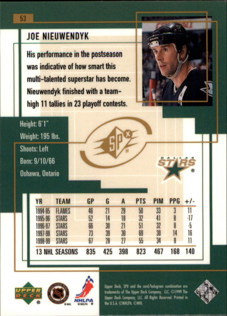 1999-00-SPx-Hockey-Cards-Pick-From-List miniature 81