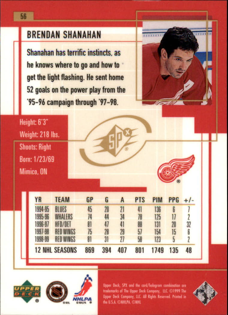 1999-00-SPx-Hockey-Cards-Pick-From-List miniature 83