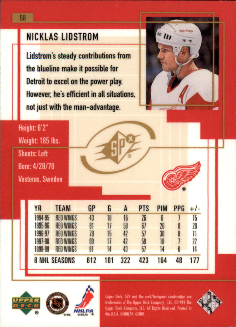 1999-00-SPx-Hockey-Cards-Pick-From-List miniature 87