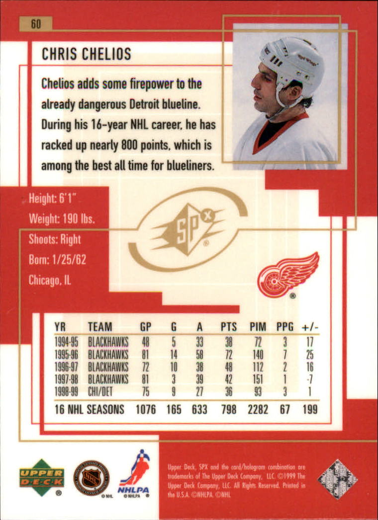 1999-00-SPx-Hockey-Cards-Pick-From-List miniature 91
