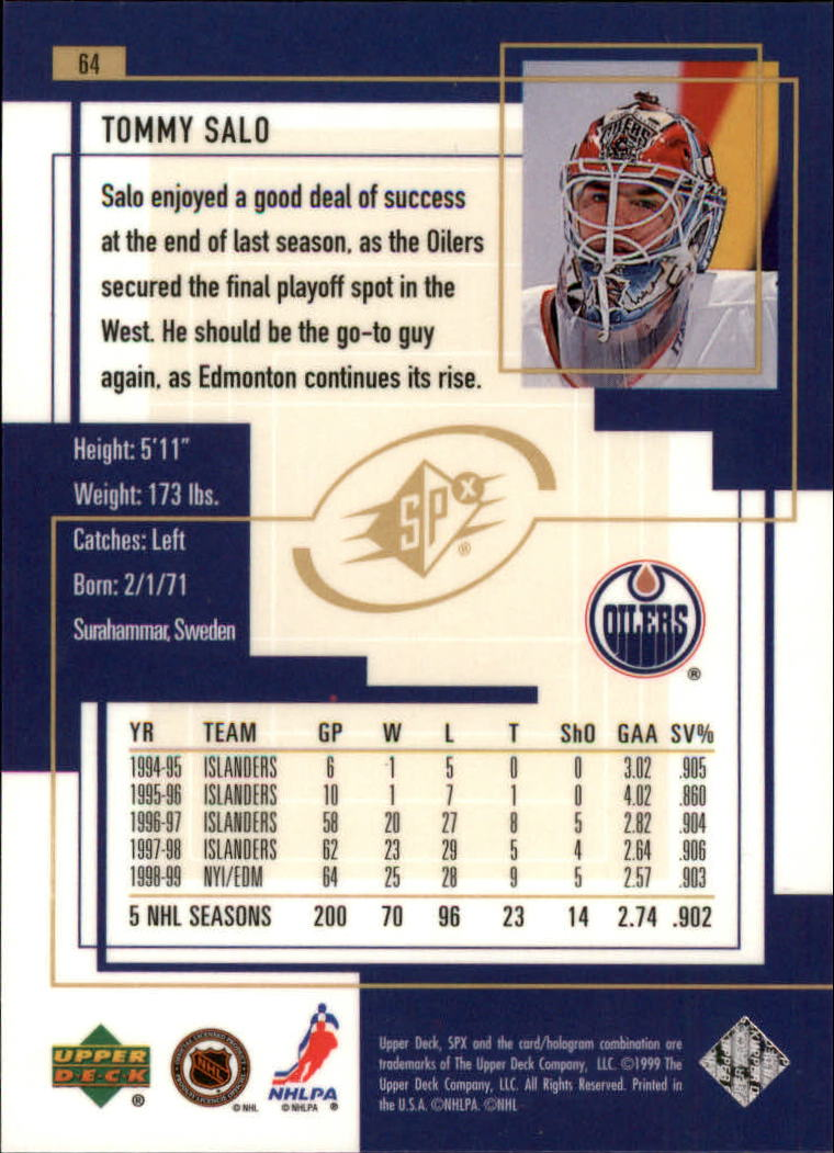1999-00-SPx-Hockey-Cards-Pick-From-List miniature 97