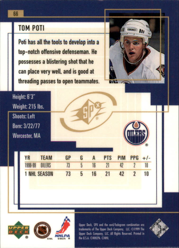 1999-00-SPx-Hockey-Cards-Pick-From-List miniature 99