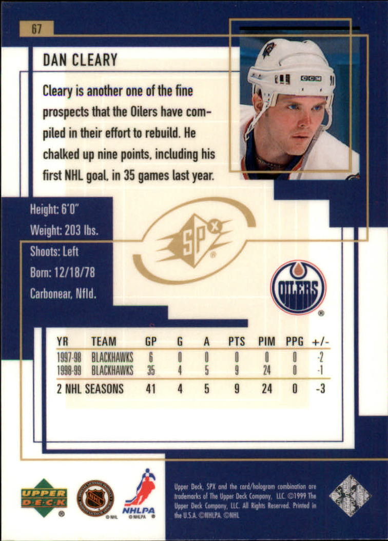 1999-00-SPx-Hockey-Cards-Pick-From-List miniature 101