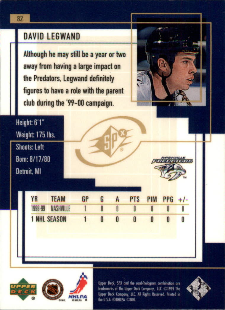 1999-00-SPx-Hockey-Cards-Pick-From-List miniature 117