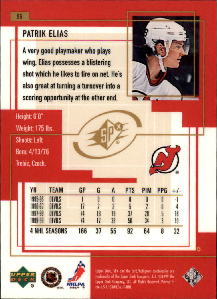1999-00-SPx-Hockey-Cards-Pick-From-List miniature 123