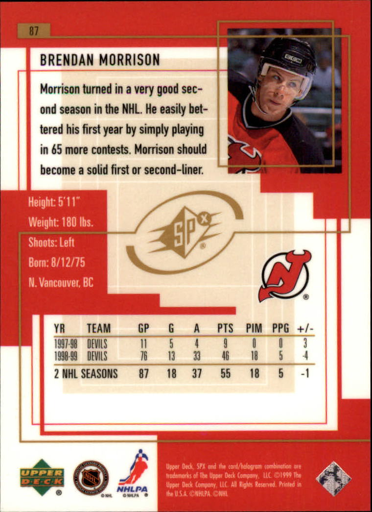 1999-00-SPx-Hockey-Cards-Pick-From-List miniature 125
