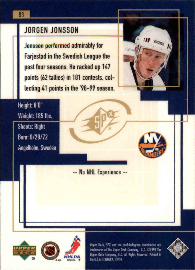 1999-00-SPx-Hockey-Cards-Pick-From-List miniature 135