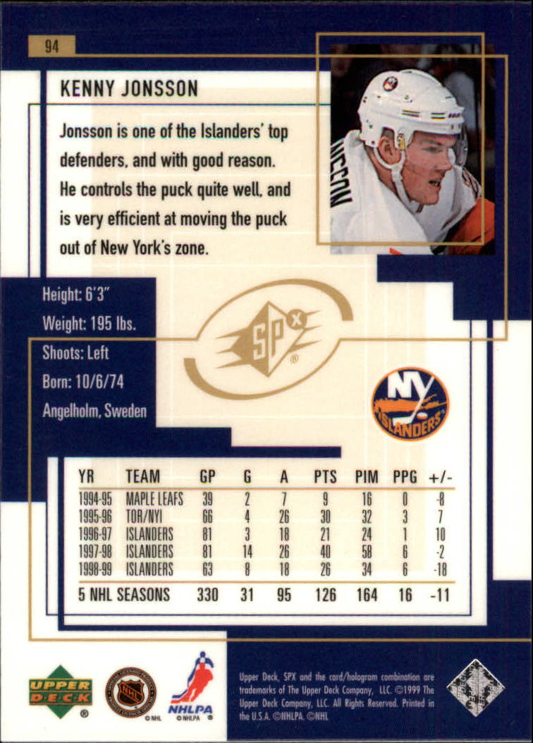1999-00-SPx-Hockey-Cards-Pick-From-List miniature 137