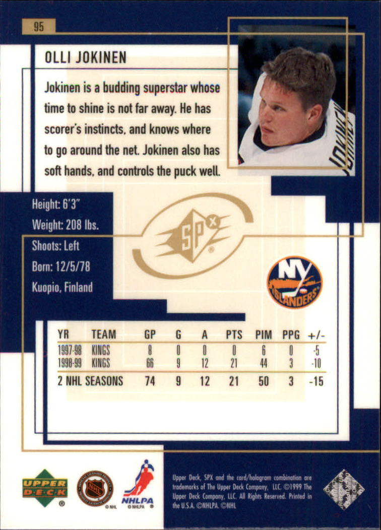 1999-00-SPx-Hockey-Cards-Pick-From-List miniature 139