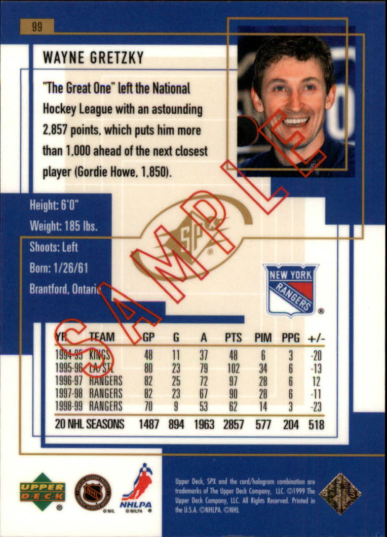 1999-00-SPx-Hockey-Cards-Pick-From-List miniature 147