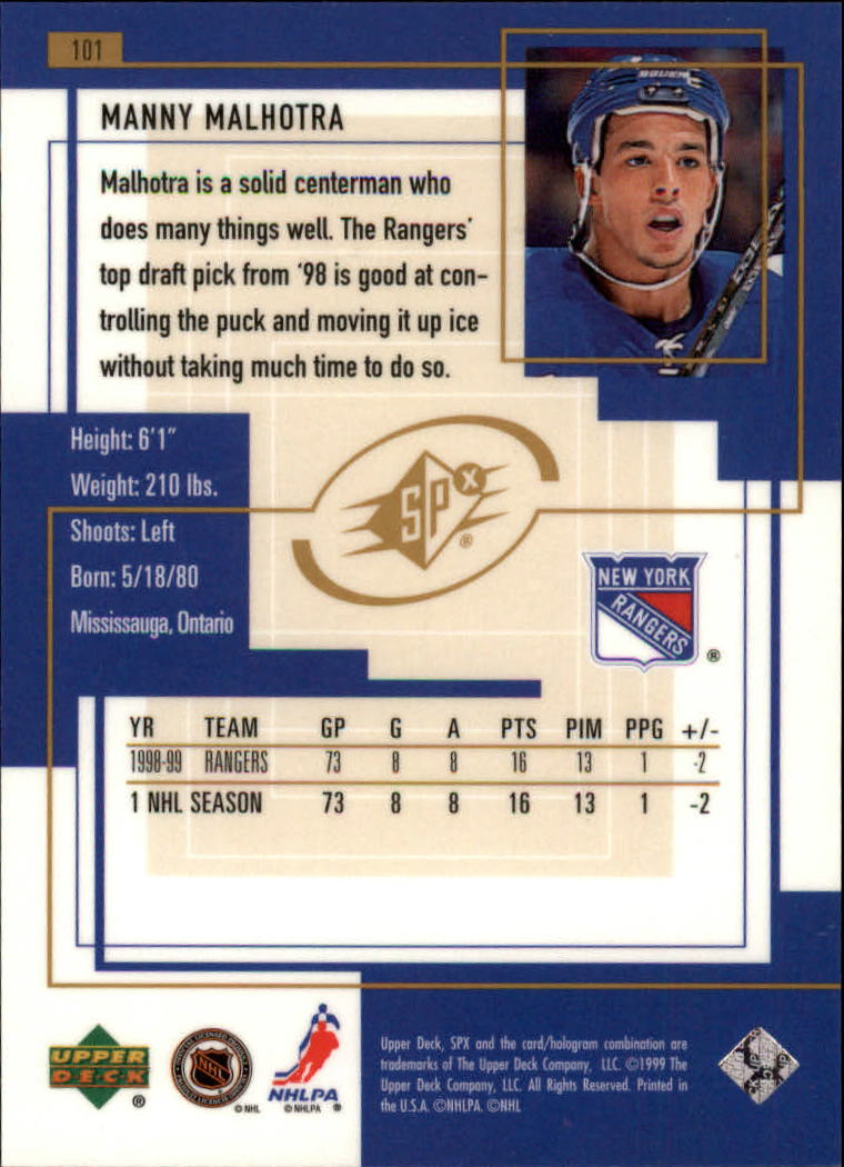 1999-00-SPx-Hockey-Cards-Pick-From-List miniature 151