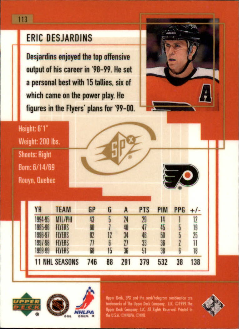 1999-00-SPx-Hockey-Cards-Pick-From-List miniature 167