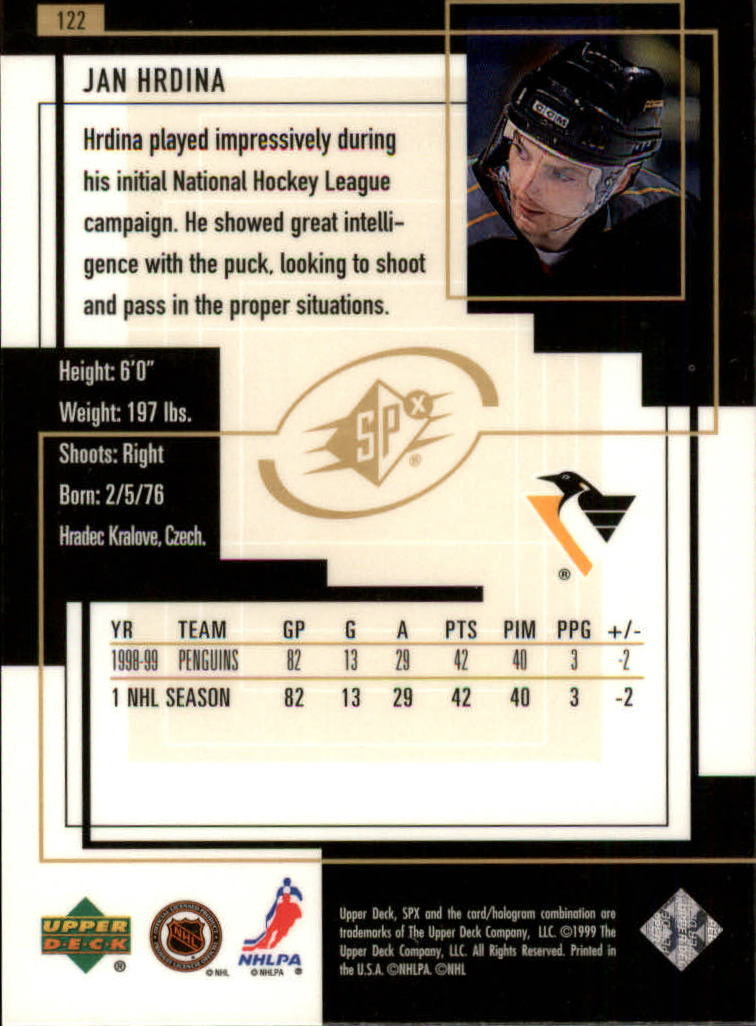 1999-00-SPx-Hockey-Cards-Pick-From-List miniature 179