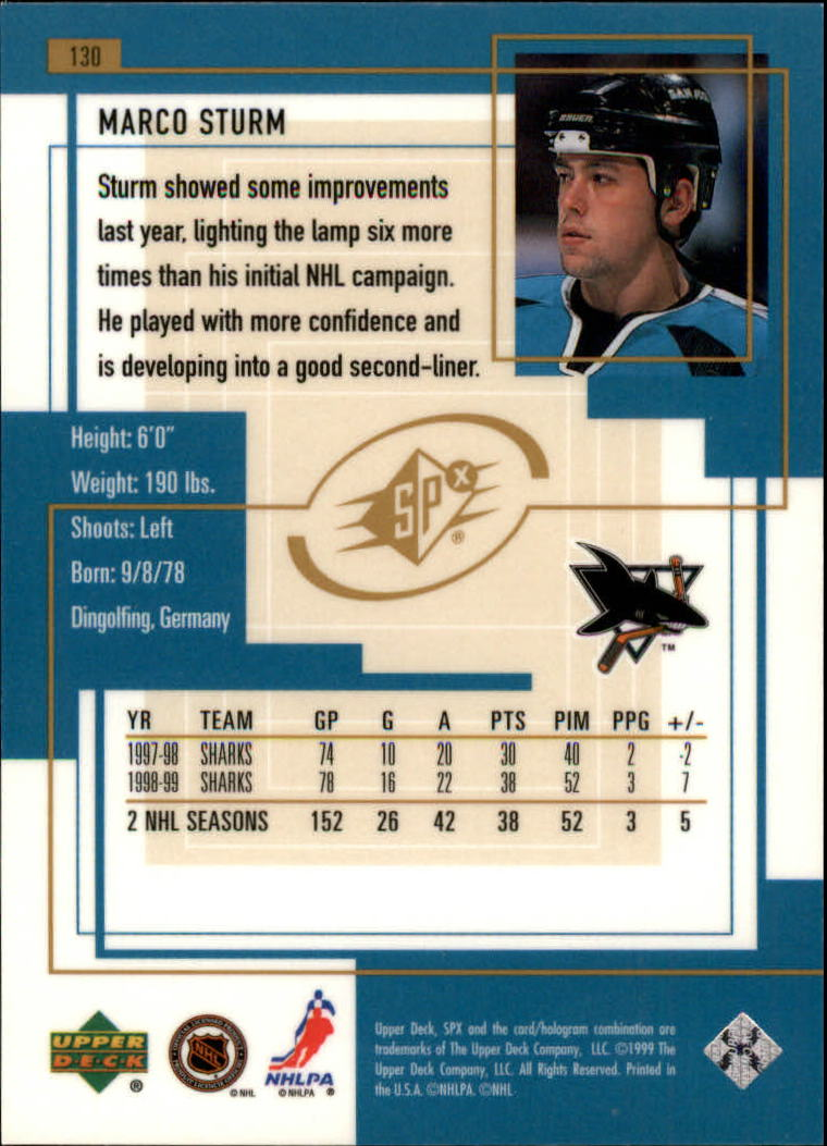 1999-00-SPx-Hockey-Cards-Pick-From-List miniature 191
