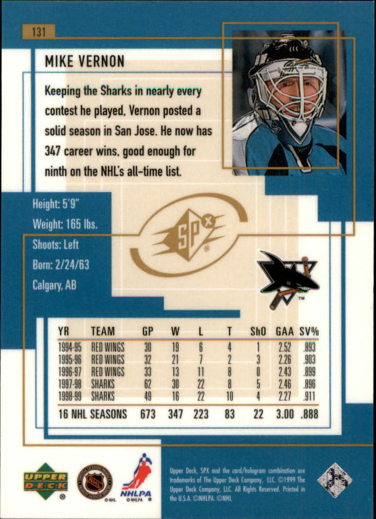 1999-00-SPx-Hockey-Cards-Pick-From-List miniature 193