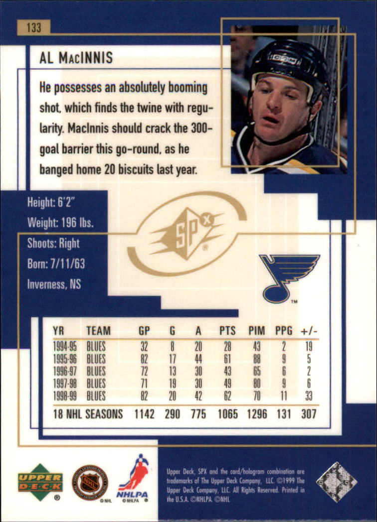 1999-00-SPx-Hockey-Cards-Pick-From-List miniature 195