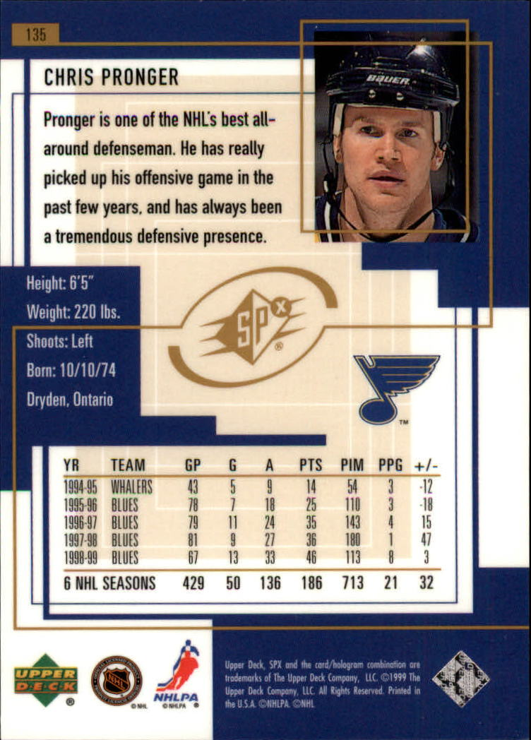 1999-00-SPx-Hockey-Cards-Pick-From-List miniature 199