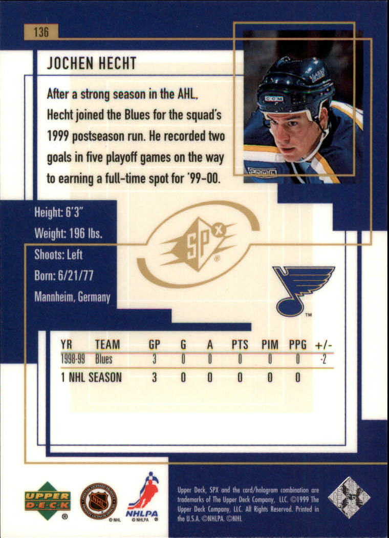 1999-00-SPx-Hockey-Cards-Pick-From-List miniature 201