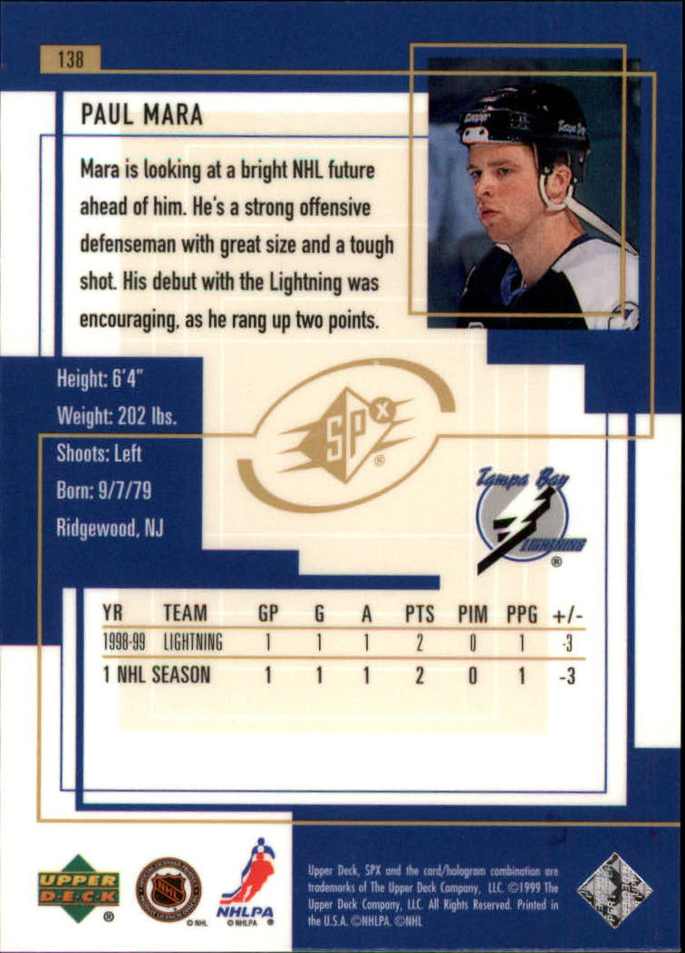1999-00-SPx-Hockey-Cards-Pick-From-List miniature 203