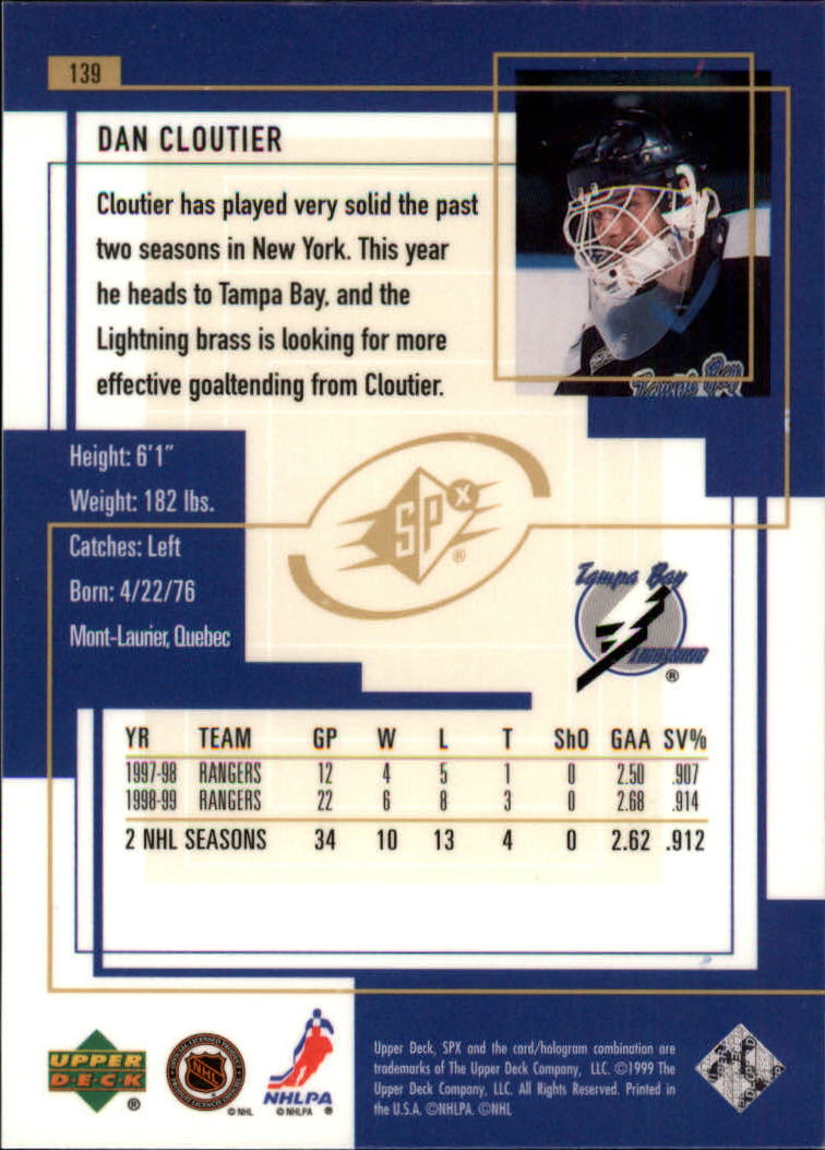1999-00-SPx-Hockey-Cards-Pick-From-List miniature 205