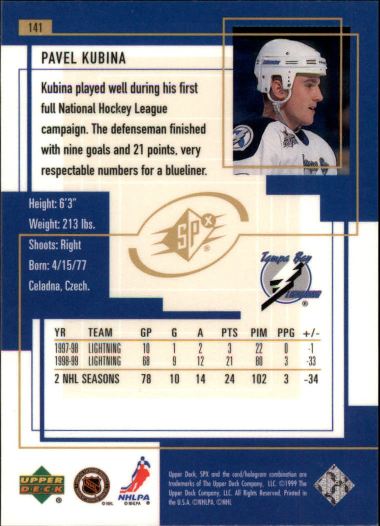 1999-00-SPx-Hockey-Cards-Pick-From-List miniature 209