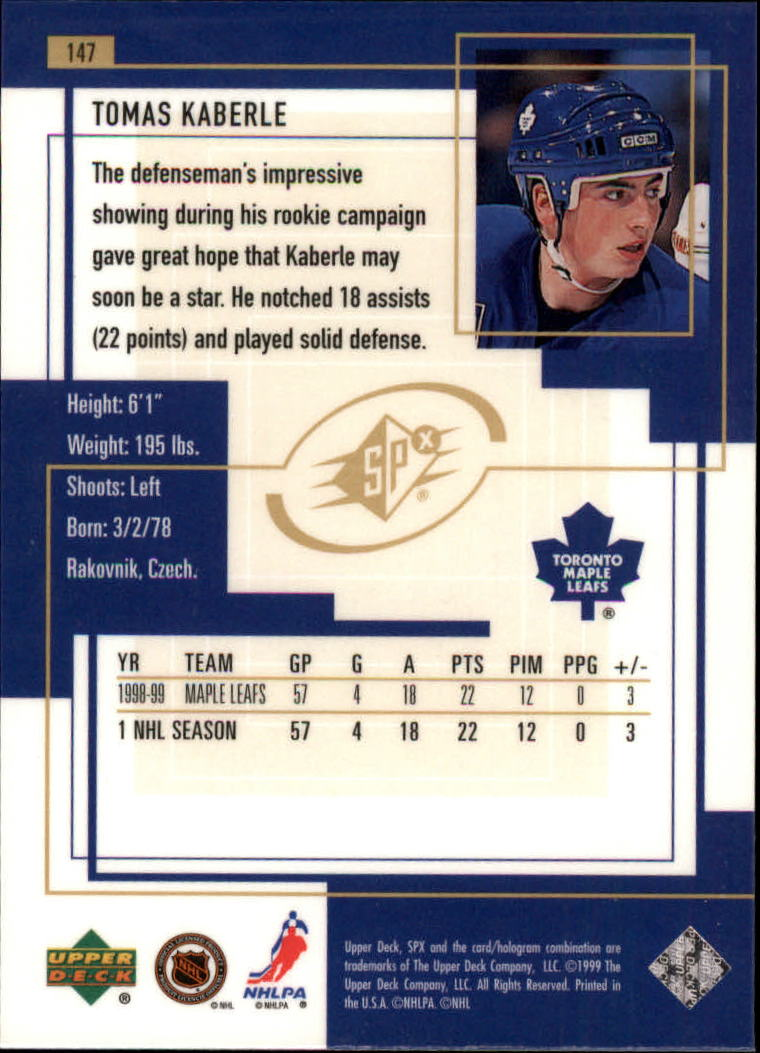 1999-00-SPx-Hockey-Cards-Pick-From-List miniature 219