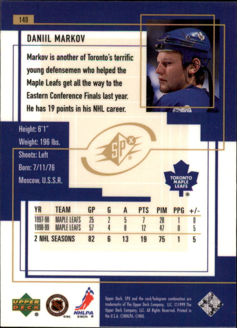 1999-00-SPx-Hockey-Cards-Pick-From-List miniature 221