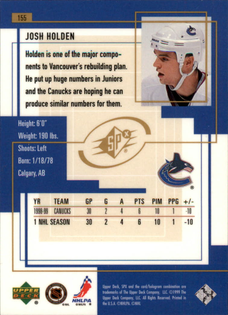 1999-00-SPx-Hockey-Cards-Pick-From-List miniature 231