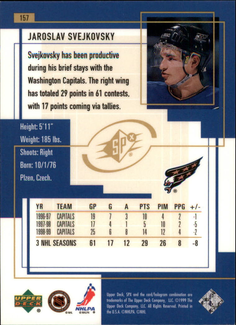 1999-00-SPx-Hockey-Cards-Pick-From-List miniature 235