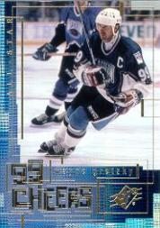 1999-00 SPx 99 Cheers #CH12 Wayne Gretzky front image