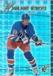1999-00 SPx Highlight Heroes #HH1 Wayne Gretzky