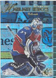 1999-00 SPx Highlight Heroes #HH5 Patrick Roy