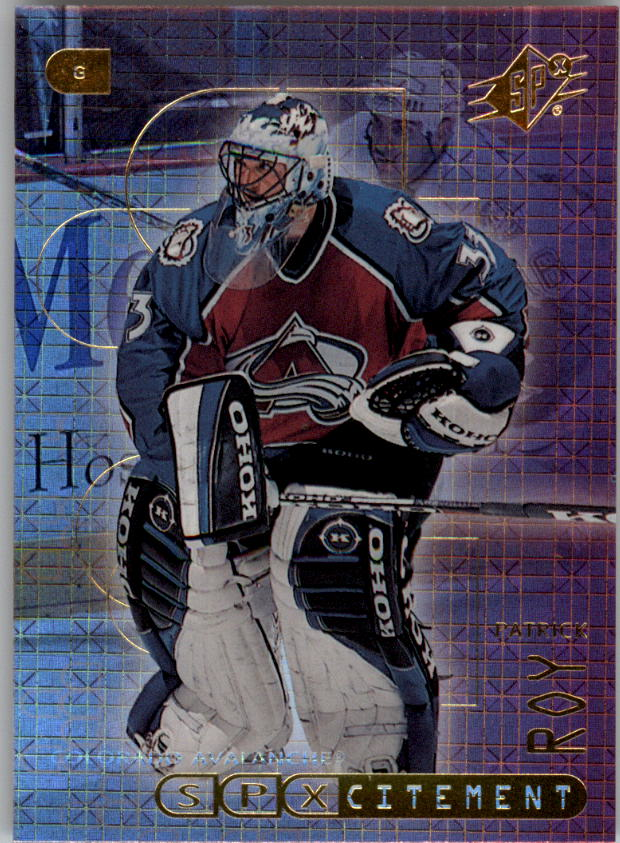 1999-00 SPx SPXcitement #X2 Patrick Roy