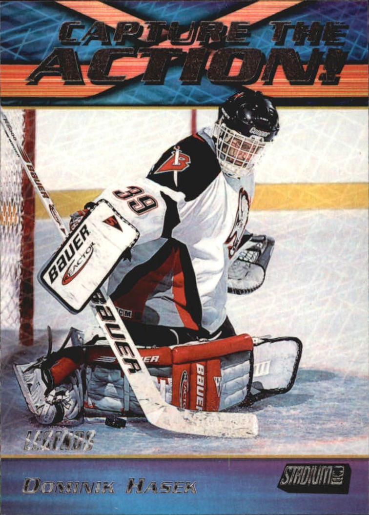 1999-00 Stadium Club Capture the Action #CA22 Dominik Hasek