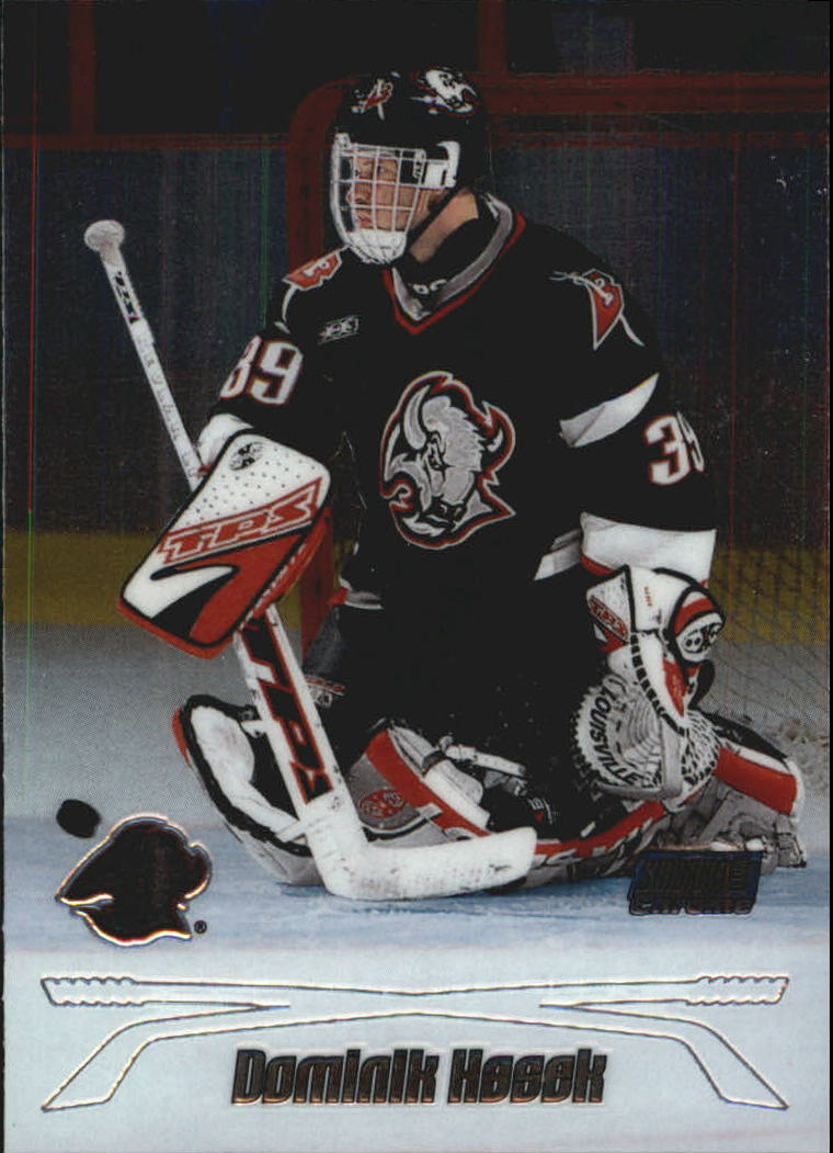1999-00 Stadium Club Chrome #7 Dominik Hasek