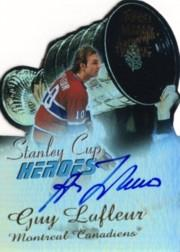 1999-00 Topps Stanley Cup Heroes Autographs #SCA3 Guy Lafleur