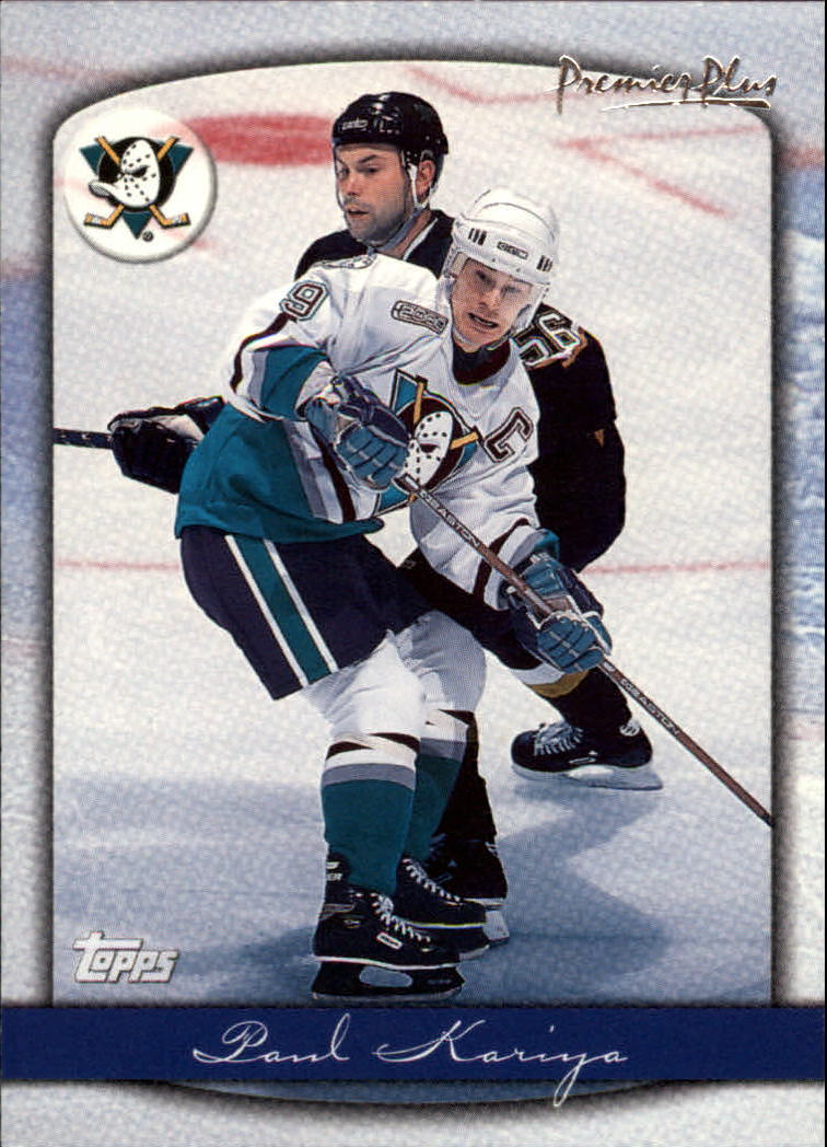 1999-00 Topps Premier Plus #40 Paul Kariya