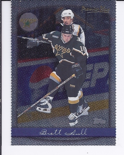 1999-00 Topps Premier Plus Foil Parallel #9 Brett Hull