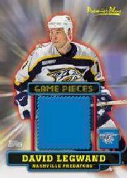 1999-00 Topps Premier Plus Game Pieces #GPDL David Legwand S