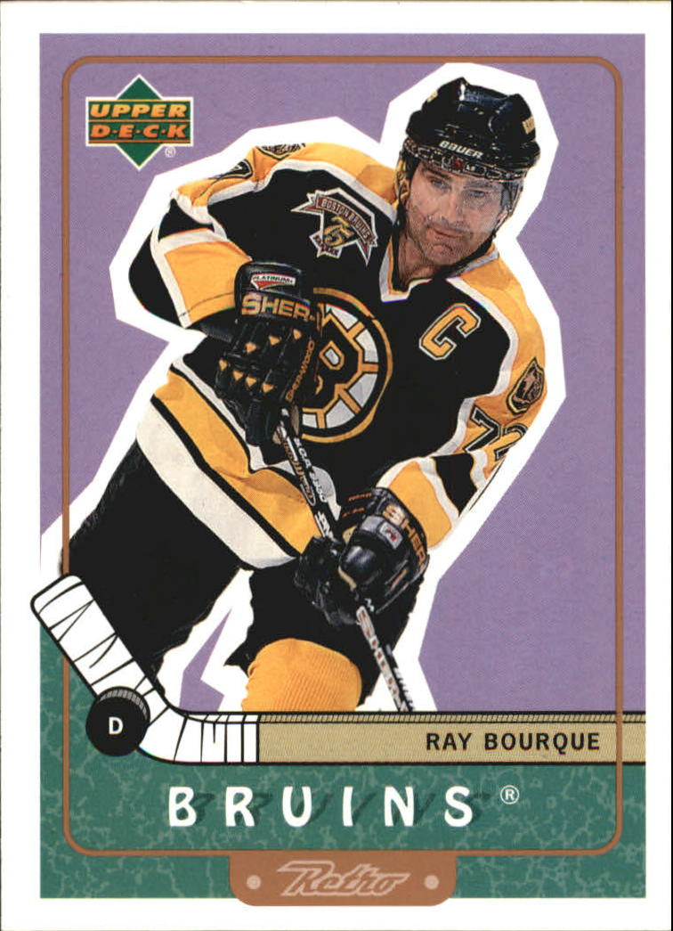 1999-00 Upper Deck Retro #4 Ray Bourque