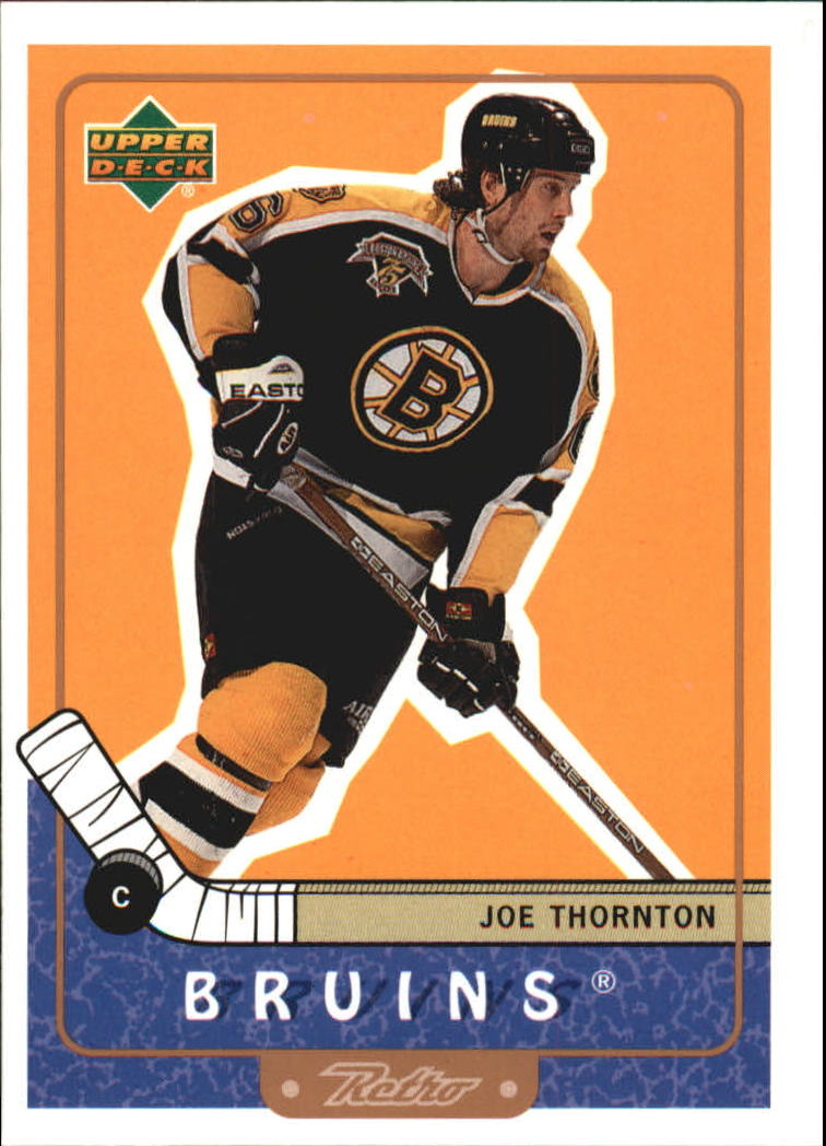 1999-00 Upper Deck Retro #6 Joe Thornton