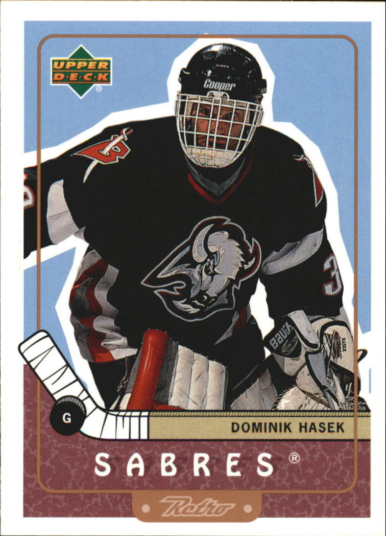 1999-00 Upper Deck Retro #7 Dominik Hasek